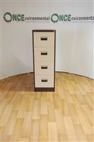 SilverlineSilverline 4-Drawer Filing Cabinet 1320H x 460W x 620D.1320H x 620D x 460W Silverline used second hand 4 drawer filing cabinet in coffee cream. When new these would retail at £258 + Vat therefore you would be saving over £173