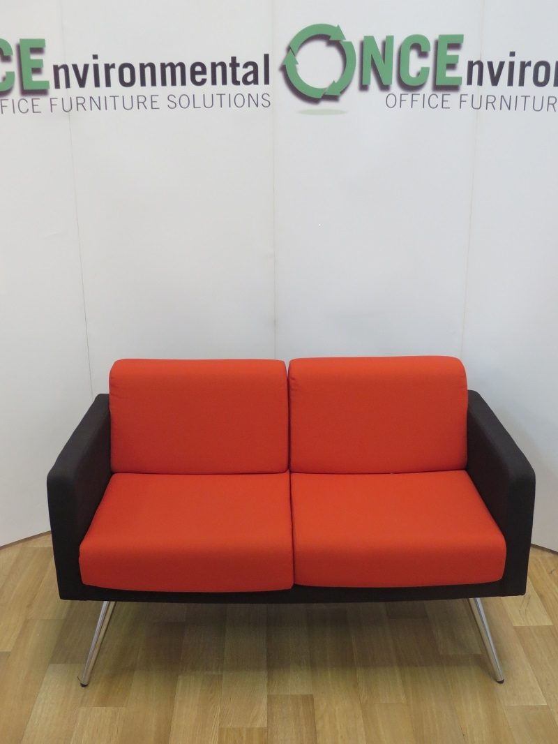 Phenomenal Used Chairs Allermuir Fifty Series Reception Sofa 1250W X 700D Download Free Architecture Designs Intelgarnamadebymaigaardcom