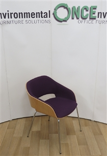 ConnectionConnection Halo Shell Chair Available In Any Colour FabricConnection halo used second hand shell tub chair.
