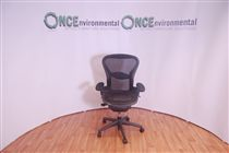 HermanMillerHerman Miller Aeron B Size Full Spec Chair With Black Mesh Seat And Back. 10 IN STOCK