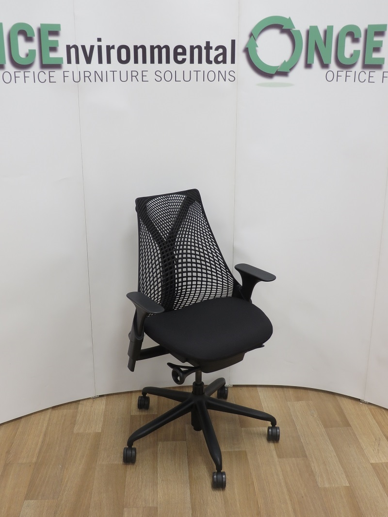 Chairs Herman Miller Sayl Chair Available In Any Colour Fabric On The Seat