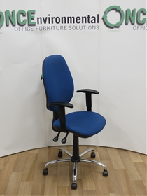 Fully Loaded Task Chair With Height Adjustable Arms 118 IN STOCK