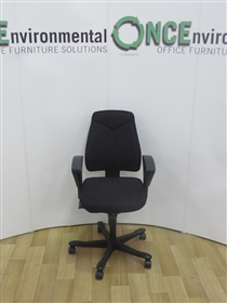 KinnarpsKinnarps 6231 Task Chair Available In Any Colour Fabric 70 IN STOCKKinnarps 6231 Used Second Hand Task Chair With Height Adjustable Arms.