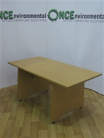 GreshamGresham Light Oak Panel End Table 1600W x 800DGresham light oak 1600w x 800d panel end table.