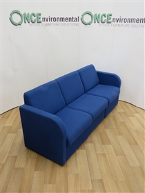 Modular Reception Sofa 2000W x 700D Available In Any Colour FabricModular used second hand reception sofa.