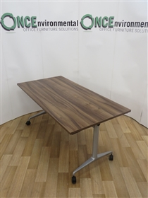 OrangeboxOrangebox Obvio AC-02 Flip Top Table 1600W x 700DOrangebox AC-02 Walnut Finish Flip Top Table.