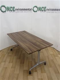 OrangeboxOrangebox Obvio AC-02 Flip Top Table 1600W x 700DOrangebox AC-02 Walnut Finish Flip Top Table.