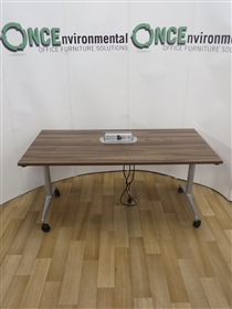 OrangeboxOrangebox Obvio AC-02 Flip Top Table 1600W x 700DOrangebox Obvio Flip Top Table In Walnut Finish.
