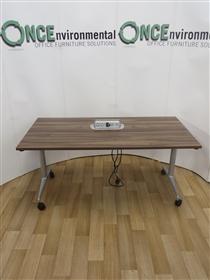 OrangeboxOrangebox Obvio AC-02 Flip Top Table 1600W x 700DOrangebox Obvio Flip Top Table In Walnut Finish.