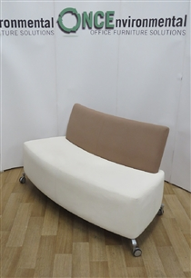 OrangeboxOrangebox Path Reception Sofa 1450W x 570D x 800H Available In Any Colour FabricUsed second hand Orangebox path reception sofa 1450w x 570d x 800h on castors available in any colour fabric.