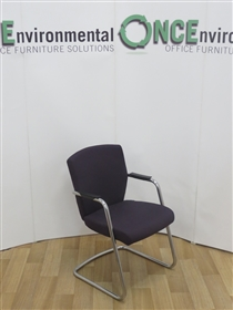 PledgePledge TAS Chrome Frame Cantilever Arm Chair Available In Any Colour FabricPledge TAS Chrome Frame Cantilever Arm Chair.