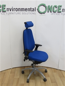 RHRH Logic 400 With Head Rest Available In Any Colour Fabric. One In Stock.RH Logic 400 With Head Rest used second hand chair.