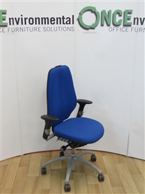 RH FormRH Logic 400 Available In Any Colour Fabric 10 IN STOCK.RH Logic 400 used second hand chair with height adjustable arms.