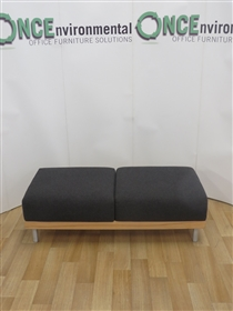 Reception Bench Seat 1420W x 640D x 440H Available In Any Colour FabricReception bench seat 1420w x 640d x 440h.