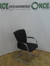 SedusSedus Open Up Chrome Frame Cantilever Arm Chair Available In Any Colour FabricSedus Open Up Chrome Frame Cantilever Arm Chair.