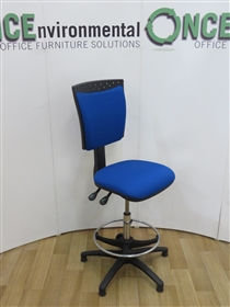 SenatoSenator 951 Draughtsman Available In Any Colour Fabric Or VinylSenator 951 draughtsman chair with footring.
