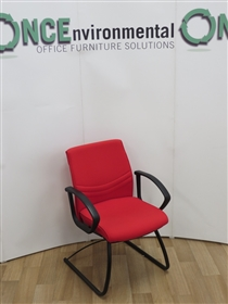 SenatorSenator Freeflex Cantilever Arm Chair Available In Any Colour Fabric