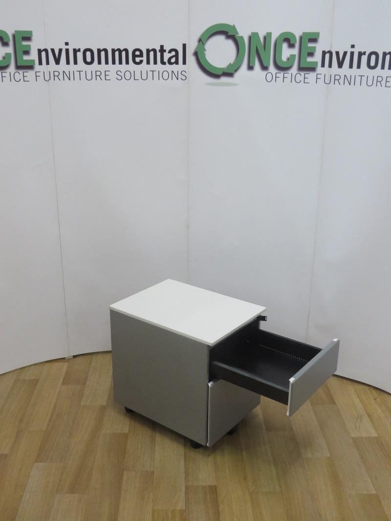 Used Office Storage Steelcase Implicit 2 Drawer Under Desk