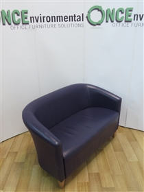 Tub Reception Sofa With Beech Legs Available In Any Colour FabricTub reception sofa 1300w x 700d available in any colour fabric.